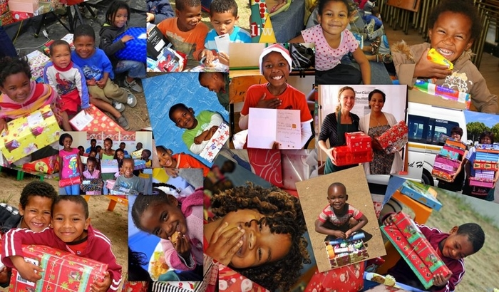 The Santa Shoebox Project many happy smiles